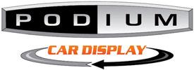 podium car display logo